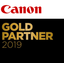 Canon Gold Partner - Gold Partner Status with Canon