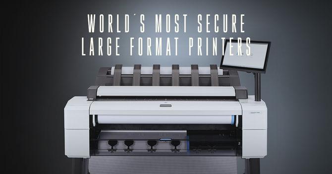 HP DesignJet T2600 Security features - HP Designjet T2600 MFP