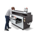 HP PageWide XL 8200 roll loading - HP PageWide XL 8200 40-inch Printer