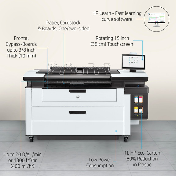 HP PAgewide XL Pro Feature card - HP PageWide XL Pro 5200 Multifunction Printer | 4VW19A