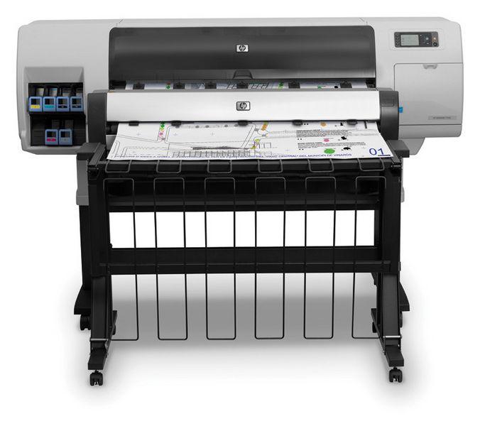 HP Designjet T7100 CQ105A High Speed Printer Stanford Marsh