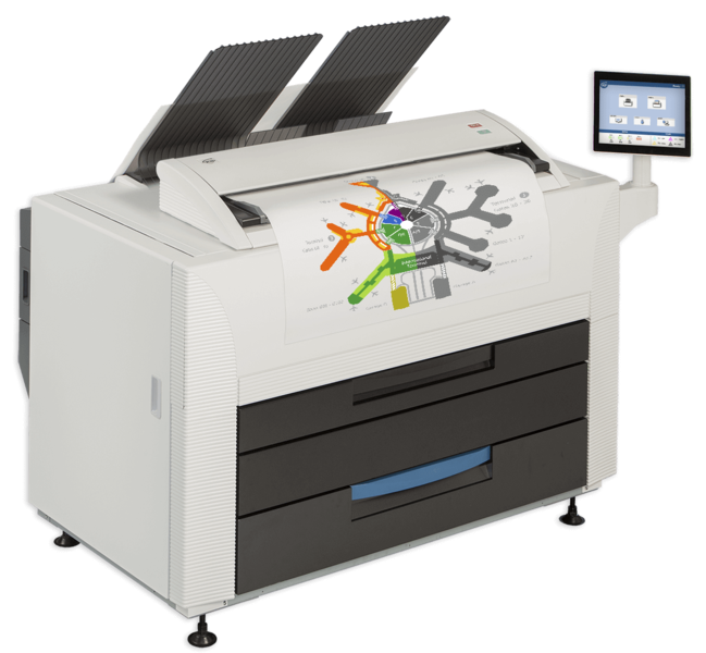 Kip 860 Mfp Amp Kip 850 Wide Format Printer Stanford Marsh