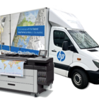 HP Designjet XL 3600 mobile demo truck