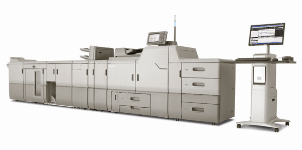 Ricoh Aficio Pro C751ex Colour Production Printer