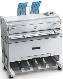 Ricoh Aficio™ MP W3601 MP W2401 Digital Plan Copier