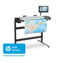 HP designjet Scanner UK Gold Partner - HP SD Pro 44-in Scanner G6H50A