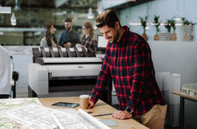 HP Designjet T2600 - HP Designjet launch new Platform in Cool white styling