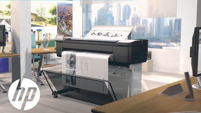 HP DesignJet T830 36-inch A0 MFP plotter - HP Designjet T830 36 inch A0 Printer F9A30D