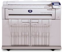 Xerox wide format copier printer and scanner